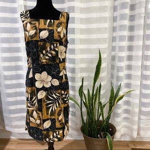 Connected Apparal Floral Summer Dress Size 10